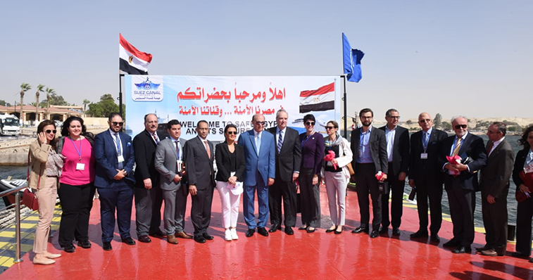 "In Response to Al-Sisi's Call to Increase National Mega Projects, American Companies Announce at the Suez Canal: ""This Is the Time to Invest in Egypt"""