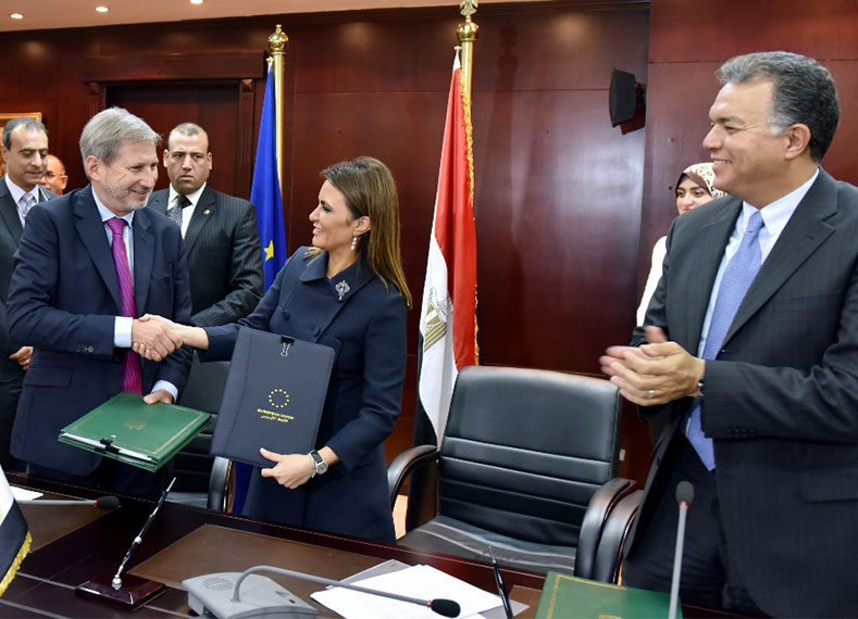 Egypt - EU Intensive Cooperation Crystalized in Signing Promising Agreements and MoU