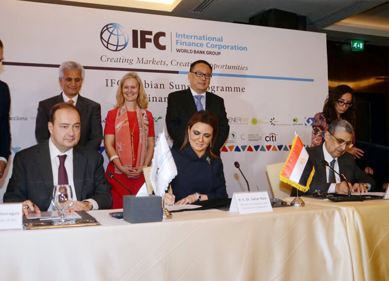 13 Agreements Signed with IFC by Ministers of Electricity and Investment